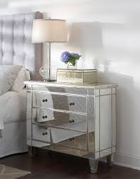 Garbo Mirrored Chest by Glam Furniture