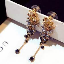 handmade jewelry designers ping designer jewelry flowers beaded earrings crystal colorful handmade earrings tel