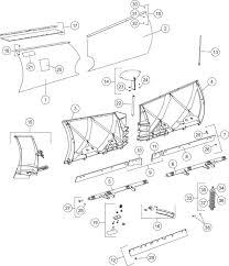 Xv2bc tremendous car undercarriage parts diagram part fisher xv2 v plow shop
