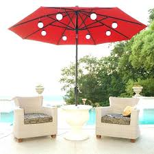 patio umbrella lights outdoor umbrellas with lights string of lights attaches to an 8 rib patio