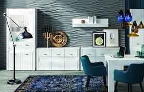 Esszimmer Komplett Set A Heber 6 Teilig Farbe Weiß Weiß Glanz