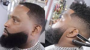 Black Mens Transformation Beards Styles Haircuts For Black Men