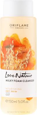 Oriflame Love Nature <b>Milky</b> Foam Cleanser - <b>Пенка для умывания</b> ...