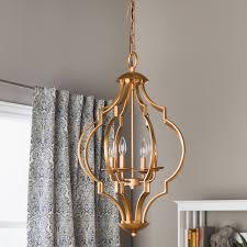 perfect 182 gold leaf trellis 4 light chandelier for chandeliers