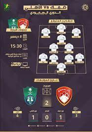 ضمك والاهلي  ☯ موعد مباراة ضمك والأهلي في الدوري السعودي والقنوات الناقلة