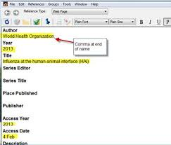 Endnotes References How Do I Add A Website As A Reference In My Endnote Library