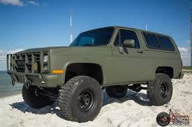 Chevrolet K5 CUCV Blazer Military M1009 M1008 M35A2 M35 Must See!