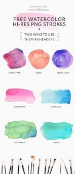 Free Watercolor Brushes Illustrator 101 Best Brushes For Photoshop Images Photoshop Brushes Info