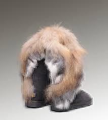 UGG Australia UGG Fox Fur Tall 8688 Stiefel Grau,ugg sale,Freestyle ...