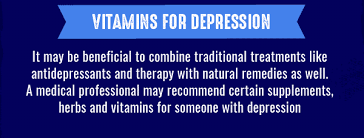 best vitamins to help with depression