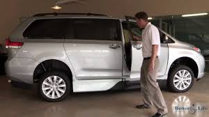 2013 Toyota Sienna Mobility Wheelchair Accessible Van by VMI Video ...