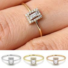2019 <b>Boho</b> Fashion Small <b>Crystal Zircon</b> Stone Ring <b>Female</b> Silver ...