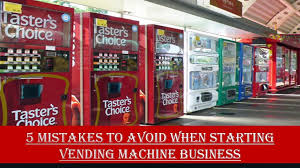 Starting Vending Machine Business Cool 48 Mistakes To Avoid When Starting Vending Machine Business Video