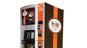 Fresh Healthy Vending Machines Gorgeous Fresh Healthy Vending Café Targets Starbucks For Self Serve Coffee