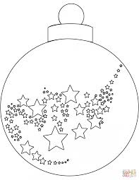 Small Picture Coloring Pages Christmas Ornaments Cut Out Sheets Pictures To Pin