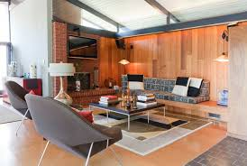 image of good mid century living room