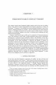 ferguson s early conflict theory springer inside