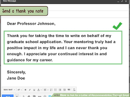 Requesting Letters Of Reference How To Ask For A Letter Of Recommendation Through Email 10 Steps