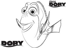 Coloring Pages Newable Disney Dory Design Cool Finding Nemo Awesome