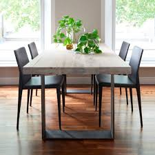 dining tables glamorous contemporary wood dining table modern extendable dining table metal and wood rectangle