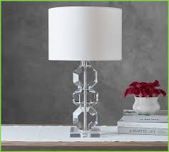 interior perfect crystal table lamps new pottery barn brooklyn faceted crystal table lamp than modern