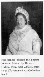 The tomb of Mrs. Frances Johnson, former wife of Watts who with Robert  Clive laid the foundation for British Empire - Navrang India