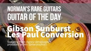 <b>Guitar</b> of the <b>Day</b>: <b>Gibson</b> Sunburst Les Paul Conversion | Norman's ...