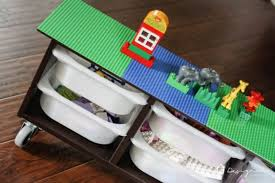 Helps you keep your things organized and the table top clear. 10 Cool Diy Lego Tables From Ikea Supplies Shelterness