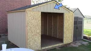 Building A Pre Cut Wood Shed What To Expect Home Depot S