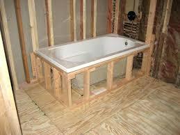 dropin soaking tubs drop in tub best ideas on bath panels and screens ft 60 x