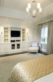good design should be functional and aesthetically pleasing and built in shelving in a bedroom provides ample extra storage and architectural appeal