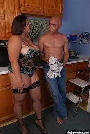 Ebony Bbw Big Tits Kitchen