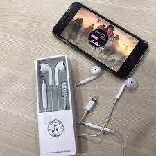 Tai Nghe Cho IPHONE 7,8,8P,X,XR,XS Max _Kết Nối BLUETOOTH_Âm Thanh Sống  Động - Tai nghe Bluetooth nhét Tai Hãng No brand