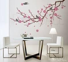 vinyl wall art cherry blossom tree