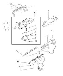 1999 dodge avenger manifolds intake exhaust thumbnail 2