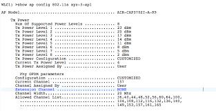 Ap Tx Power In Cisco Wlc Wifitodd