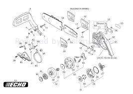 Echo cs 4200 chainsaw cs4200 parts diagram page 5