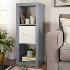 details about better homes and gardens 3 cube storage organizer bookcase multiple colors