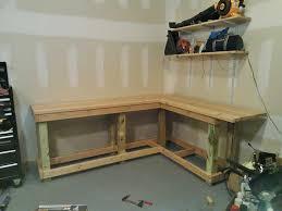 garage bench plans diy workbench garden shed howtodiy professional