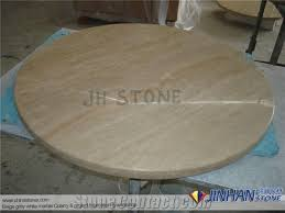 round coffee table top beige ivory