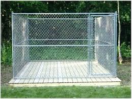 outdoor dog pen kennel flooring ideas intended for idea large canada