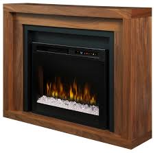 dimplex anthony mantel electric fireplace with glass ember bed transitional indoor fireplaces by addco electric fireplaces