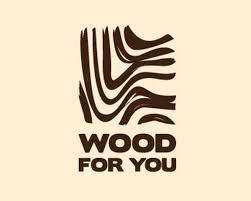 wood furniture design logo. wood for you furniture logo design devfloat