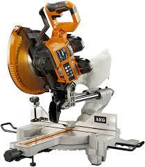 ridgid tools saw. aeg 18xv 2-battery 10-inch sliding miter saw ridgid tools o