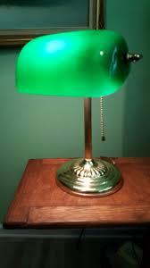 green bankers desk lamp design