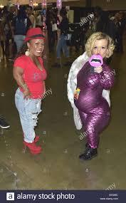 Tonya Reneé Banks and Terra Jole at RuPaul's DragCon at the Stock Photo -  Alamy