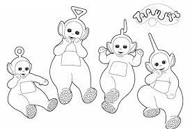 Small Picture Download Teletubbies Coloring Pages