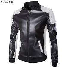 2019 whole punk motor jacket motorbike black white leather jackets men motorcycle slim fit leather biker jacket male pu coat from cacy 53 68 dhgate