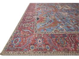 loloi rugs loren lq 10 blue red area rug