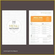 Restaurant Menu Template Free Vector Indian Restaurant Menu